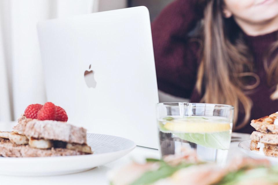smart working e cibo